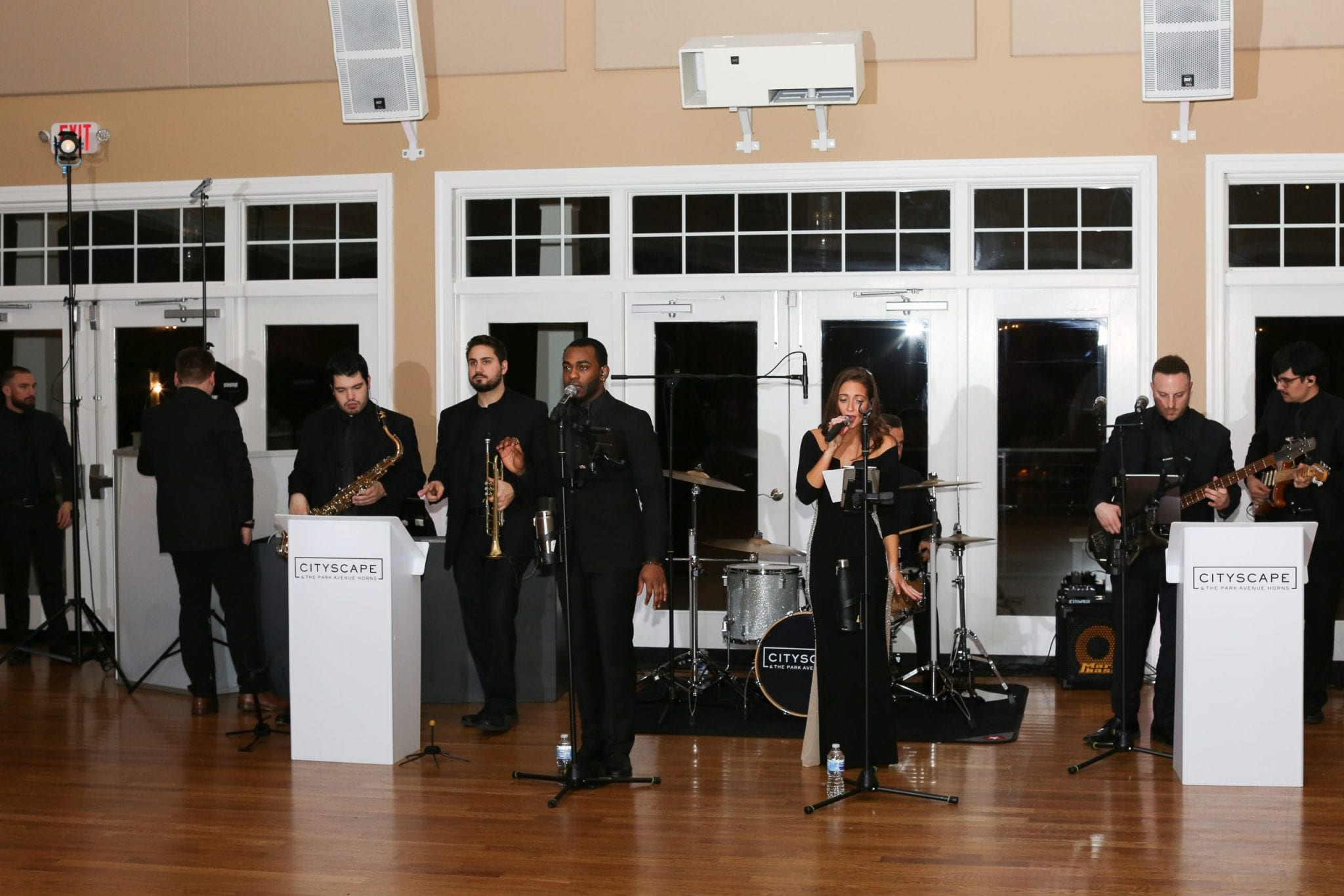 CityScape band performing at a wedding   Elegant Music Group - EMG