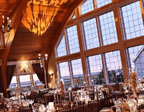 A beautiful wedding venue before guests arrive | Elegant Music Group - EMG