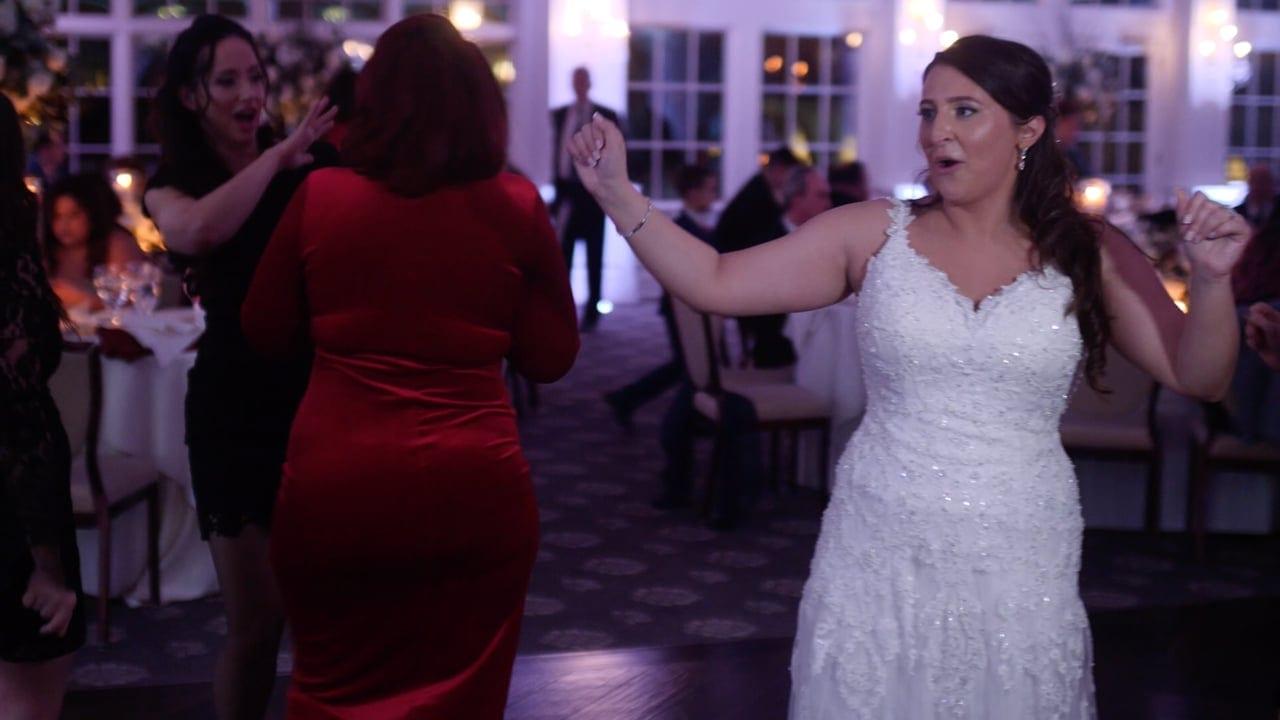 bride dancing   EMG
