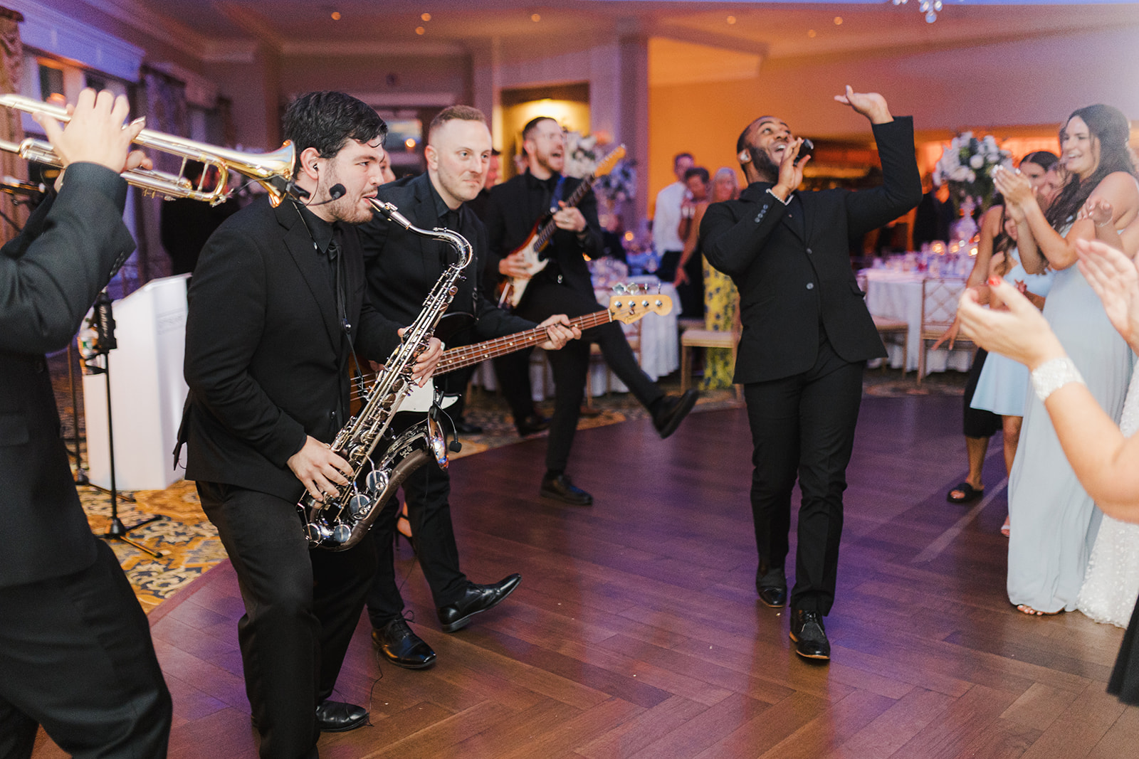 Tiffany & JJ's Wedding with CityScape & The Park Avenue Horns   Elegant Music Group